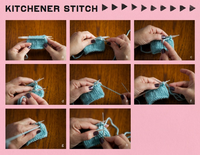 Crochet Kitchener Stitch : Step It Up Knits by Vickie Howell - Yarnspirations Blog