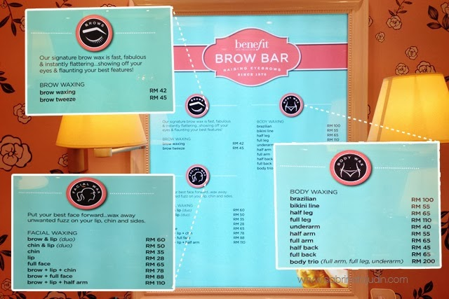 Benefit Cosmetics Brow Waxing Service Price & The new Gimme Brow ...