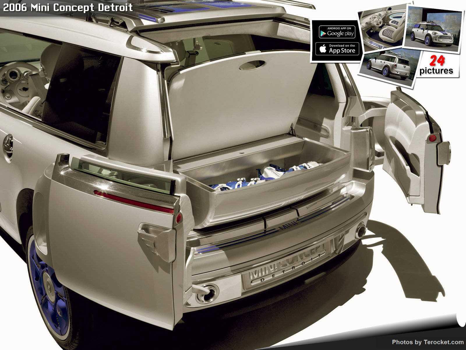 Hình ảnh xe ô tô Mini Concept Detroit 2006 & nội ngoại thất