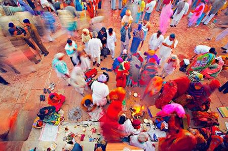 La fotografía documental de Poras Chaudhary