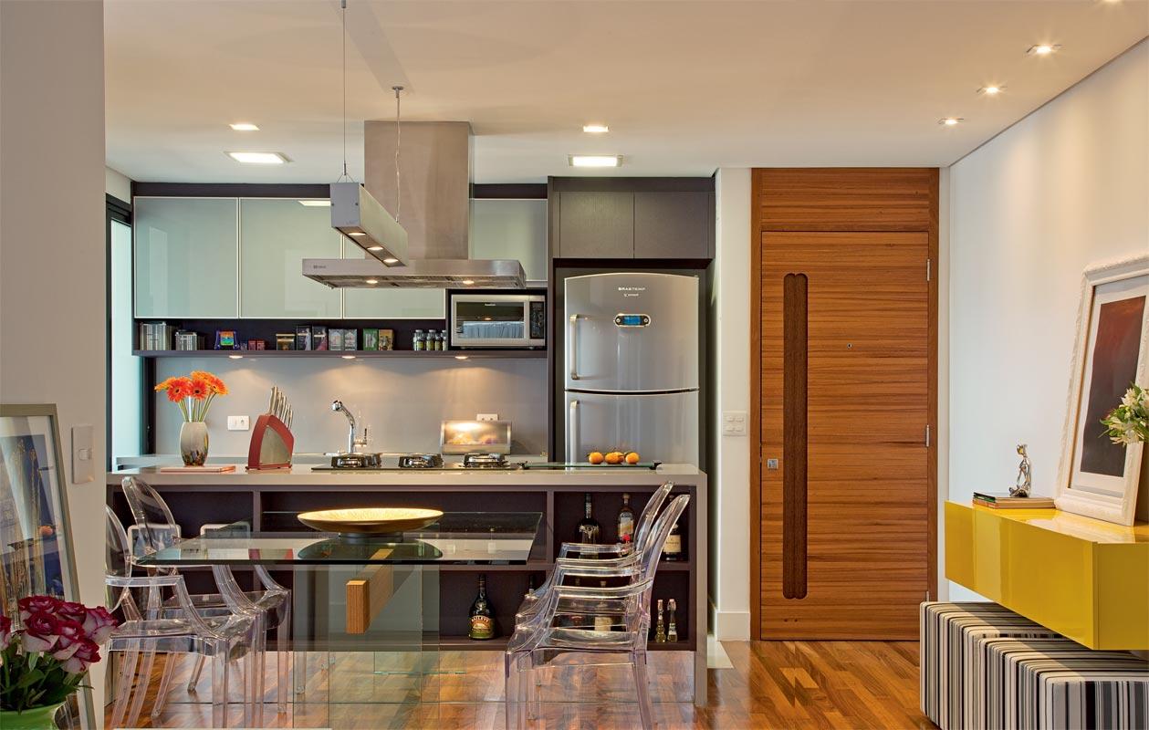 Cozinha Pequena Gesso Ilumina O Nica Gomes Designer -> Gesso Sala Pe Direito Duplo