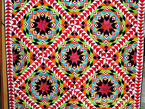 Freddy Moran pieced quilt