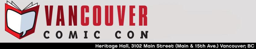 Vancouver Comicon