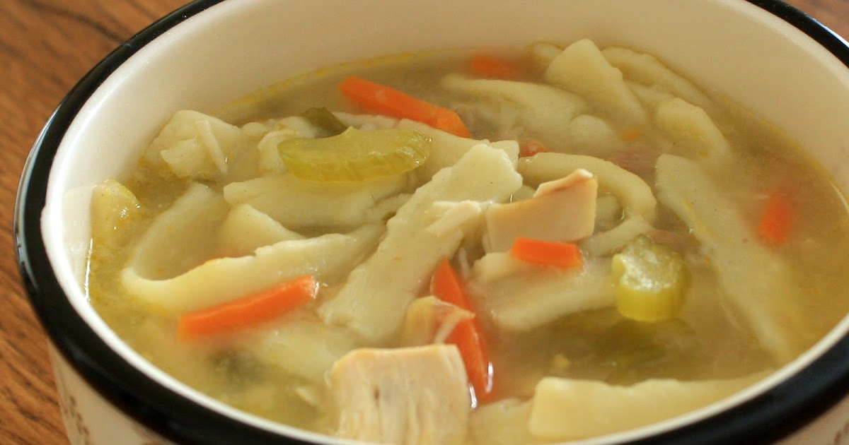 Slow-Cooker Monday: Chicken Noodle Soup
