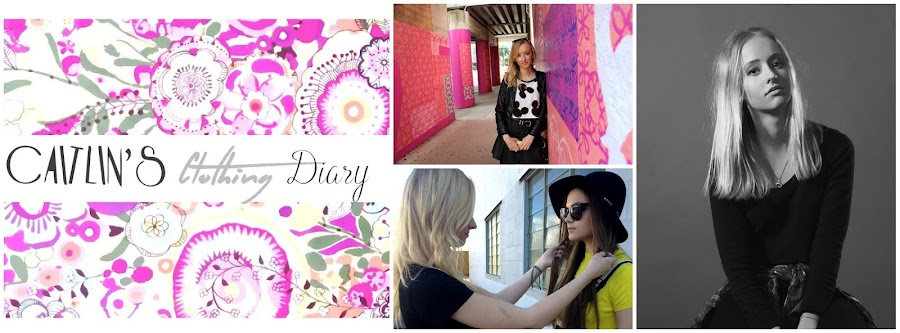 CAITLIN'S CLOTHING DIARY
