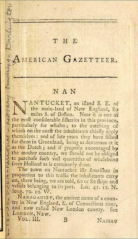 American Gazetteer, published in London in 1862