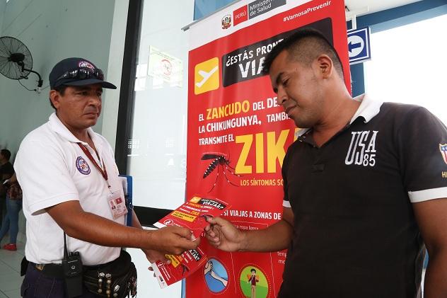 El Minsa activa cerco epidemiológico para evitar propagación del zika en Jaén, Yurimaguas, Zarumill