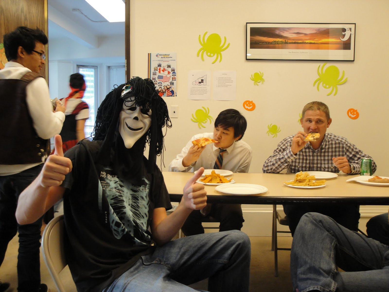 geos halloween party 2011! | geos languages plus - san francisco