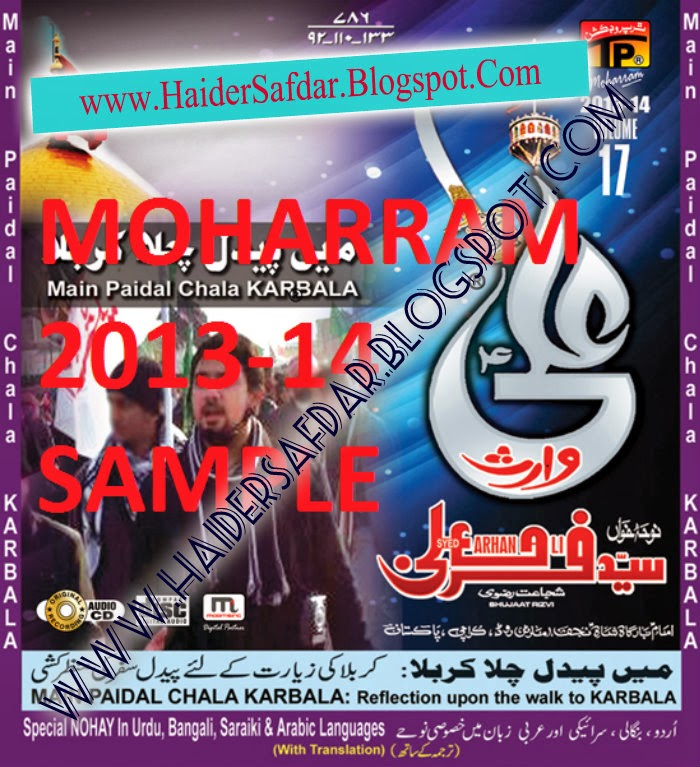 Farhan Ali Waris Nohay 2014