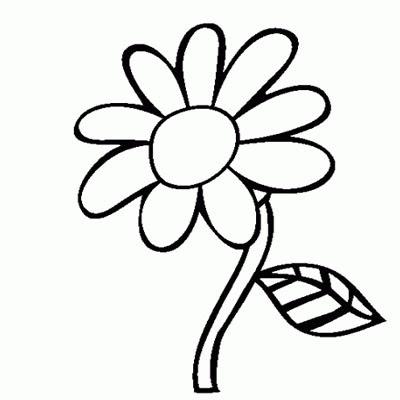 Gambar Bunga Kartun Hitam Putih Untuk Mewarna - Aneka ...