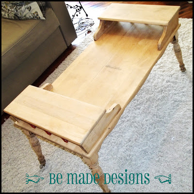 Stripped Down Coffee Table {be made designs}