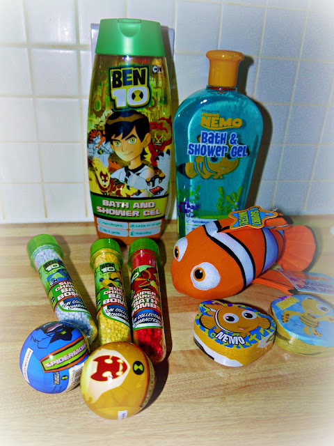 H and A, bath time, bath products