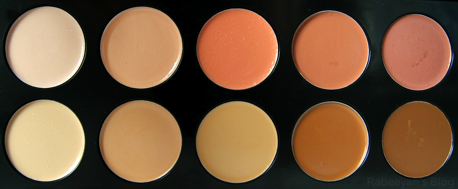 Bh Cosmetics 10 Color Camouflage And Concealer Palette Review Swatches