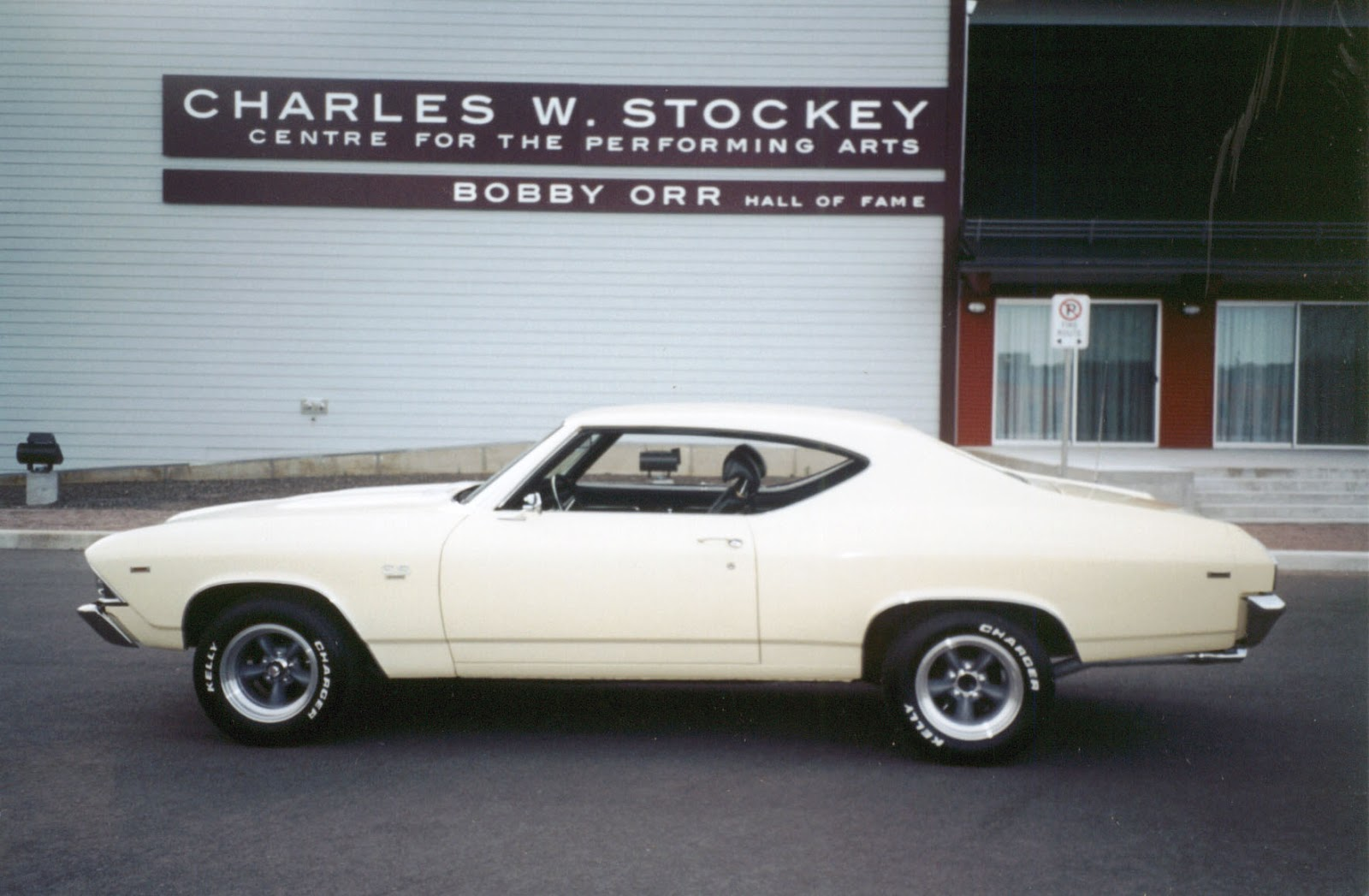 Finished in butternut yellow with black bucket seat interior this ss reeks of classic big block power