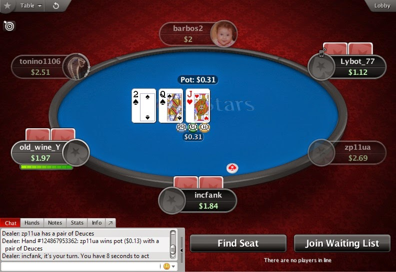 How many players in the world series of poker