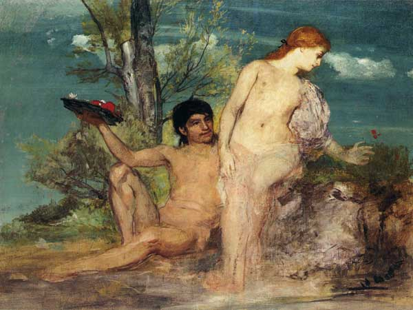 arnold bocklin lovers