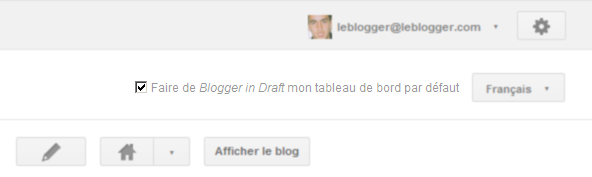 Blogger Draft