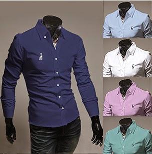 Mẫu áo sơ mi công sở Fashion Nam 2014