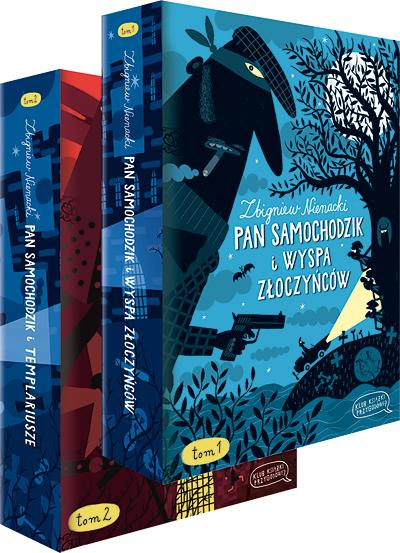Kolekcja Klub Książki Przygodowej - Zbiginiew Nienacki i Adam Bahdaj już w kiosku!