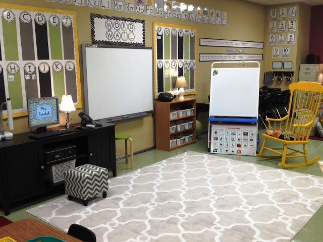 Modern Classroom Rug : Primary inspired ten pin linky classroom decor