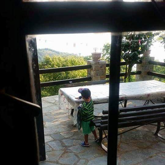 θέα από το σπίτι