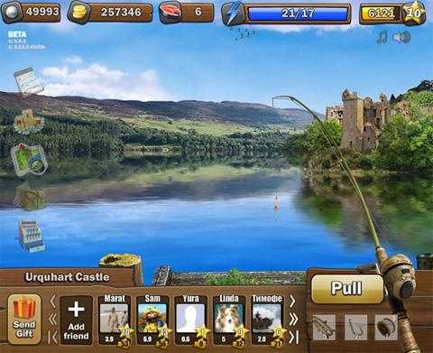 Facebook go fishing 100 pearls hack tool cracks keys for Facebook fish game