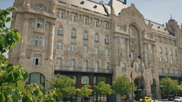 Film stills - Spy (2015) - Four Seasons Hotel Gresham Palace Budapest