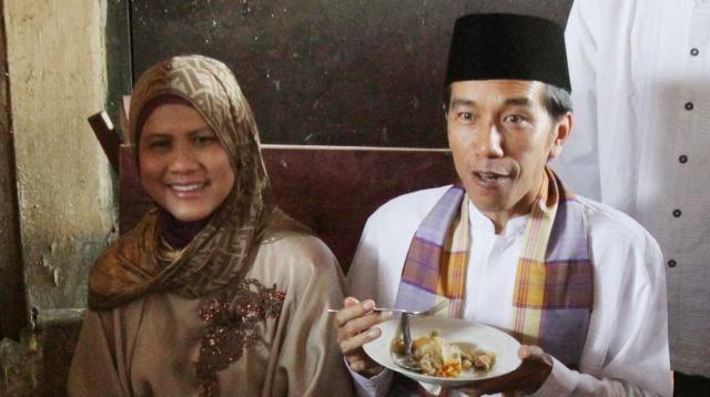 Jokowi-Iriana : Berpacaran dalam waktu yang tak singkat