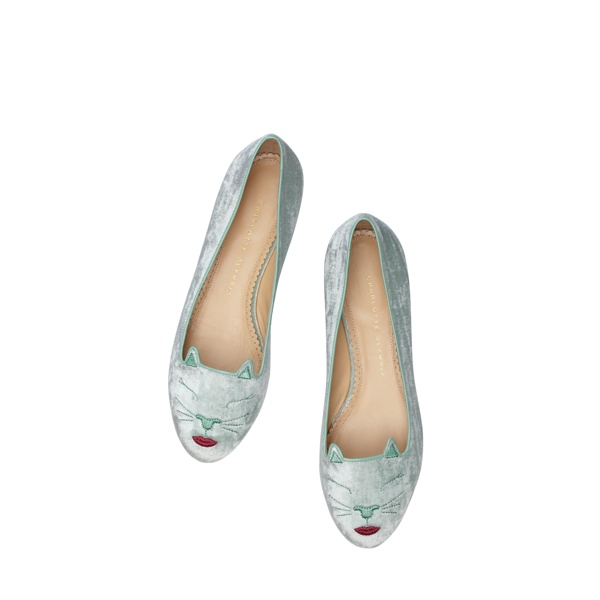 Pouty Kitty - Charlotte Olympia 'Kitty & Co' Cat Flats Collection