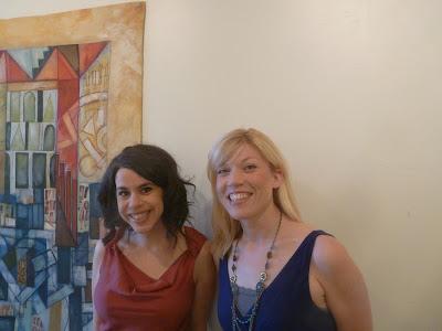 Jen Edwards and Jennifer Feld @ Thompson House Shooting Gallery Newport Kentucky