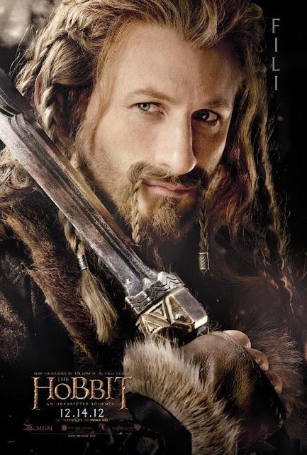the hobbit, character poster, fili