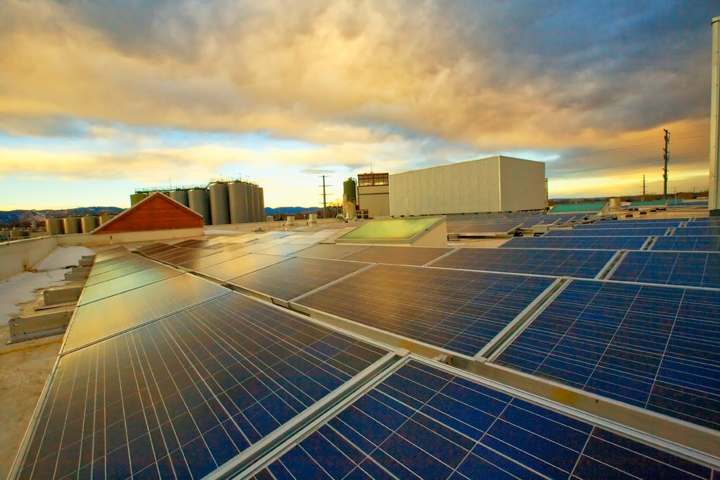 New Belgium Brewing has one of the largest privately owned solar arrays in the state of Colorado.
