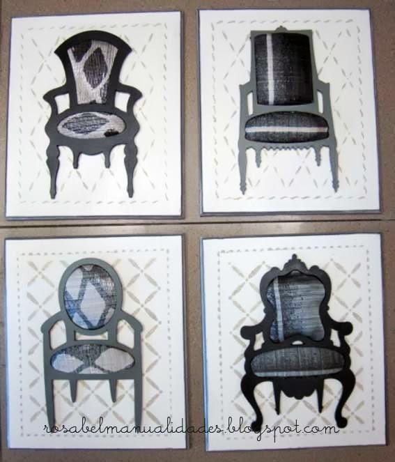 Rosabel manualidades cuadros modernos - Manualidades cuadros modernos ...