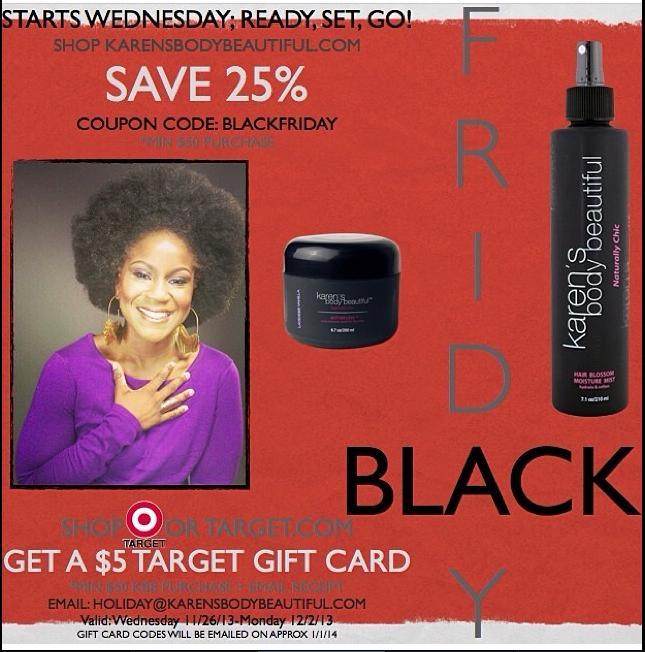 Natural Hair Black Friday Sales