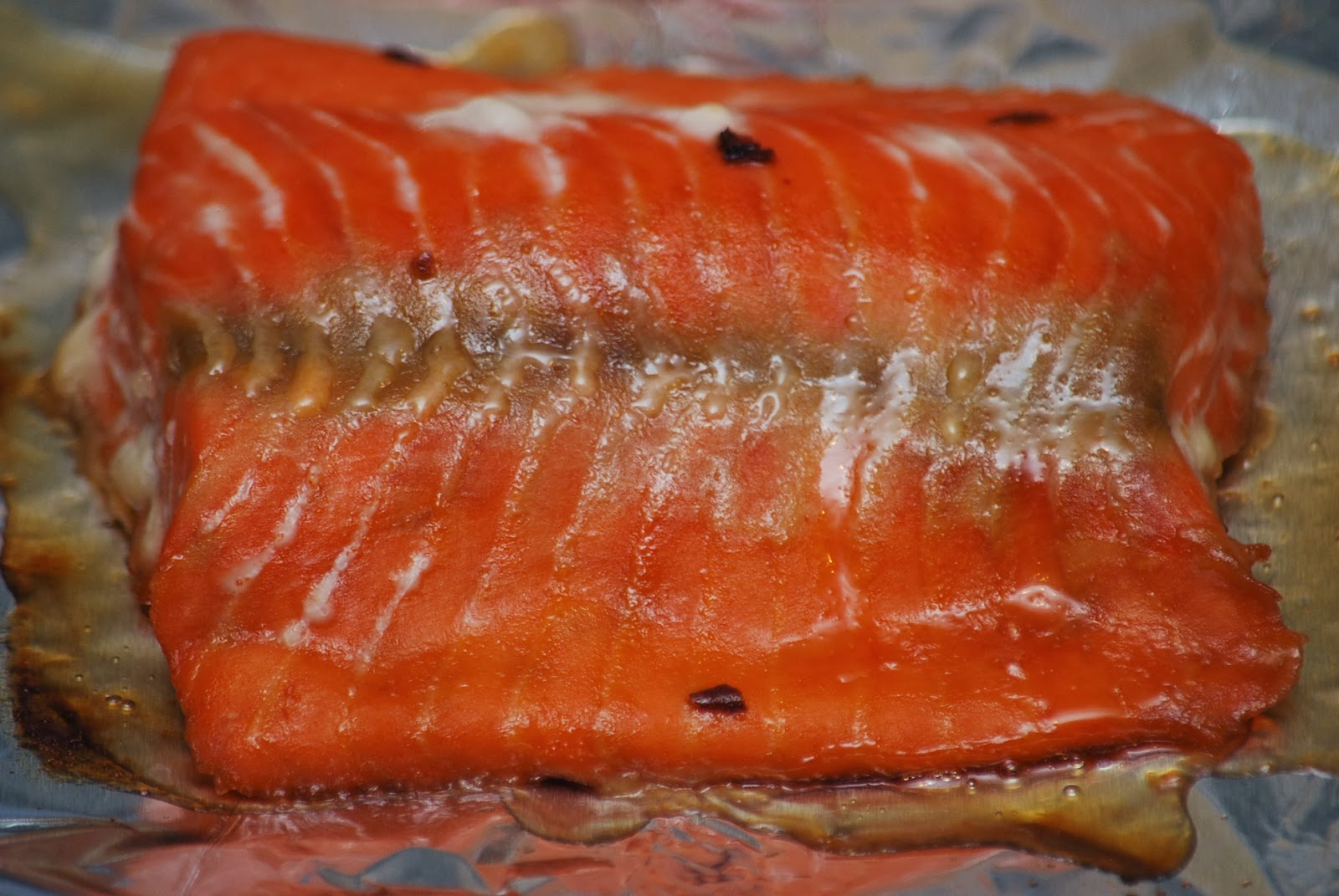 My story in recipes: Maple Glazed Salmon