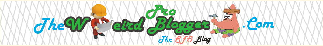 TheWeirdProBlogger.com