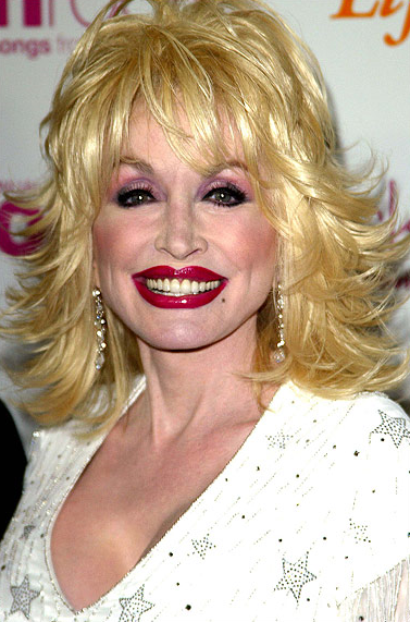 Dolly Parton. Drew Berrymore