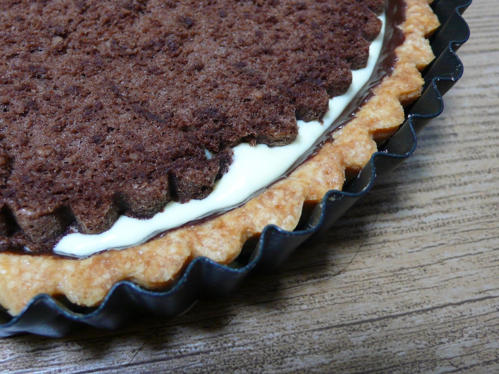 Baking in the Land of the a Thousand Hills: Tiramisu Black Bottom Tart