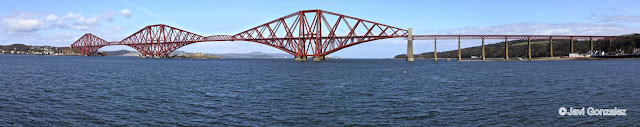 Forth Bridge, Forth Road Bridge, North Queensferry, Scotland,