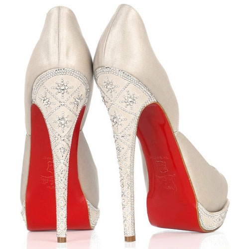 Louboutin Wedding Shoes / Los zapatos de boda más exclusivos