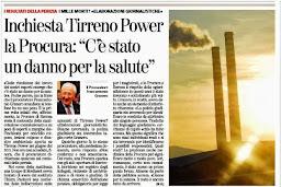 """INCHIESTA TIRRENO POWER , LA PROCURA: """"C'E' STATO UN DANNO PER LA SALUTE """""""