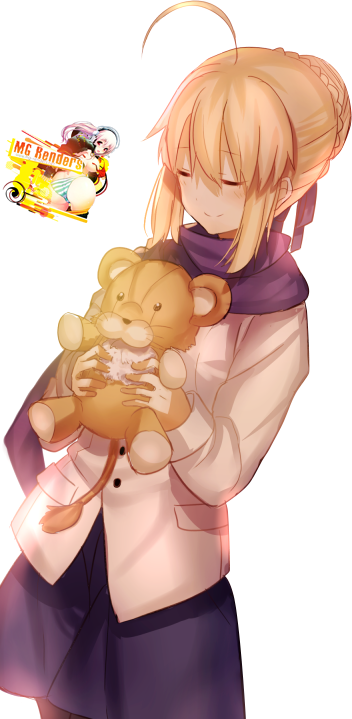 Tags: Anime, Render,  Artoria Pendragon,  Fate series,  Fate stay night,  Saber, PNG, Image, Picture