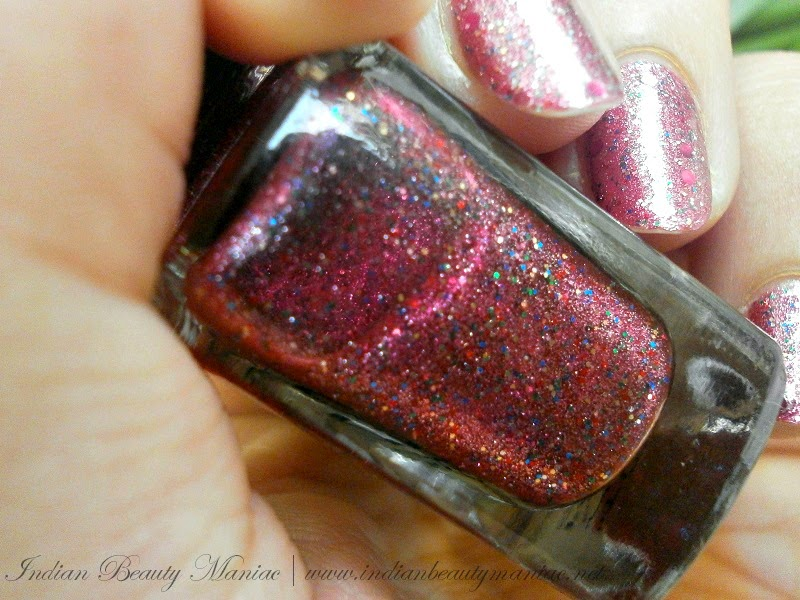 Tips and Toes Red Carpet Gel Polish in Mesmerize Me