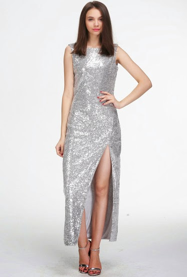 http://www.sheinside.com/Silver-Sleeveless-Split-Sequin-Maxi-Dress-p-181820-cat-1727.html?aff_id=461