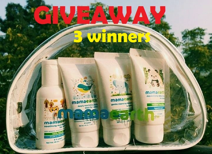 Win Mama Earth Baby products