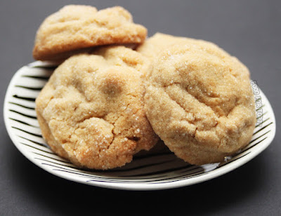 Soft, Chewy Peanut Butter Cookies