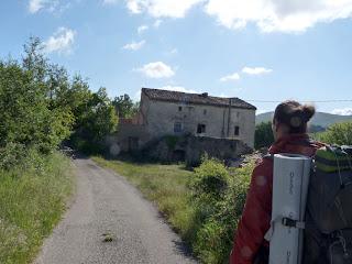 ランカス Ranquas サン・ギエムの道 Chemin de Saint-Guilhem