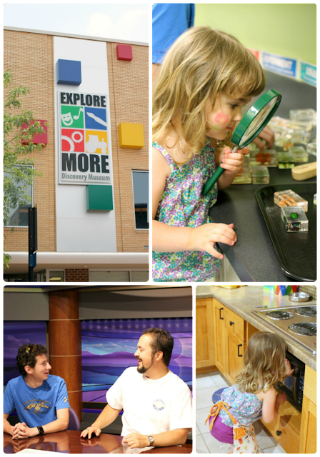 Want to find a way to entertain a 3 year old, a 16 year old, and an almost 40 year old all in one place while visiting Harrisonburg? Take them to the Explore More Discovery Museum! #BlueRidgeBucket #Trekarooing