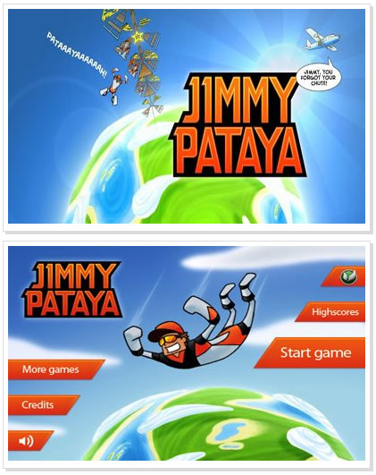 Android Game : Jimmy Pataya