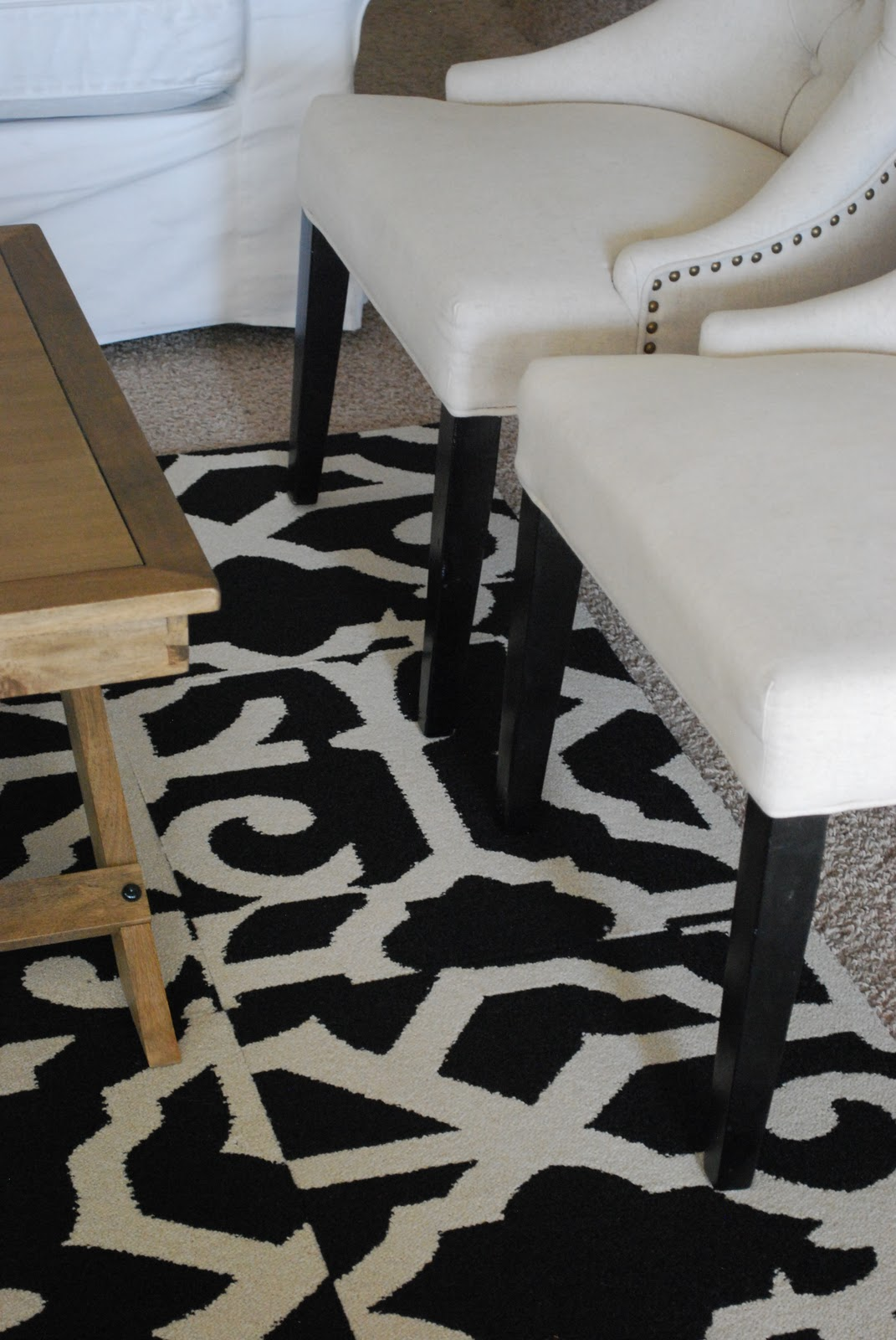 My Living Room Area Rug: FLOR Carpet Tiles~ title=